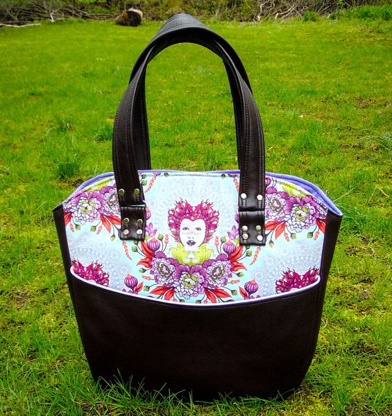 Stunning Tula Pink-themed Creative's Tote - Andrie Designs