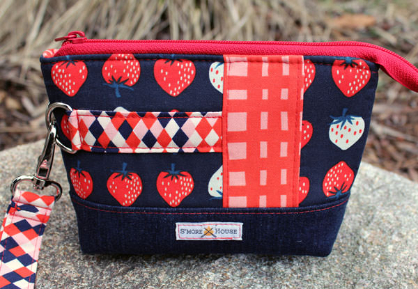 Strawberries anyone? YUM! Classic Clutch - Andrie Designs