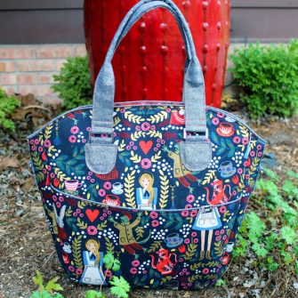 Love this Alice in Wonderland Creative's Tote - Andrie Designs