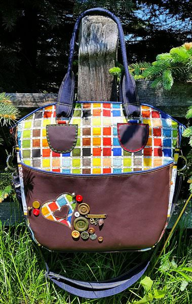 Check out this amazingly creative Creative's Tote!! - Andrie Designs