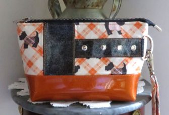 Scottie Dog Classic Clutch - Andrie Designs