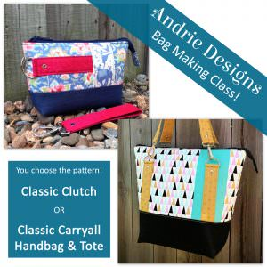 Andrie Designs - Bag Making Class