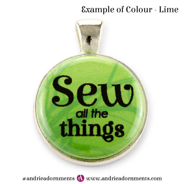 Example of Colour - Lime - Andrie Adornments