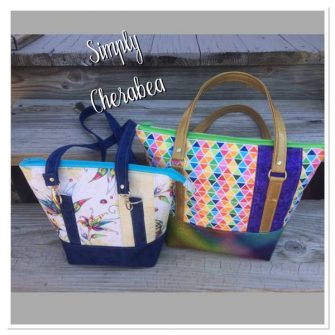Classic Carryall Handbag & Tote - Meet the Maker - Simply Cherabea - Andrie Designs