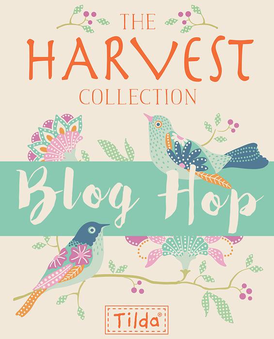Blog hop - Tilda Harvest - Andrie Designs