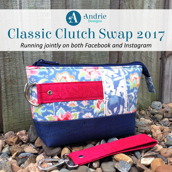 Classic Clutch Swap 2017 - Andrie Designs