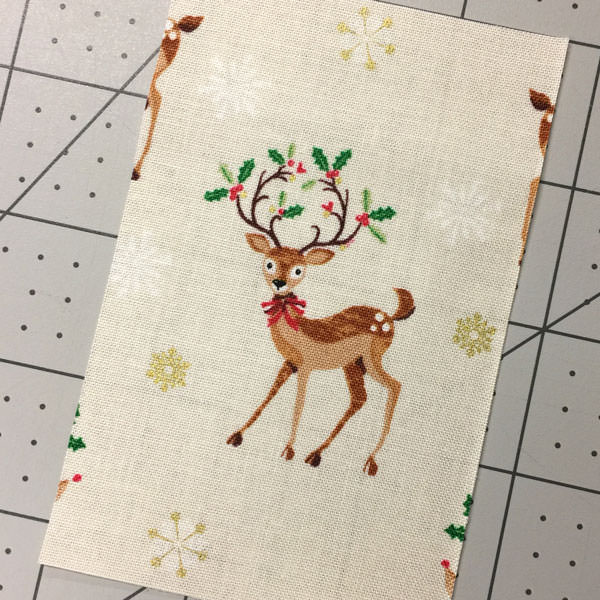 Darling little reindeer print - Christmas in July - Andrie Designs