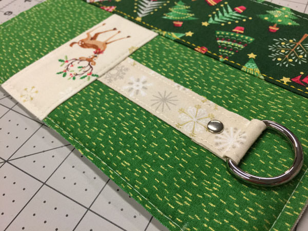 Loving this fabric combination - Christmas in July - Andrie Designs