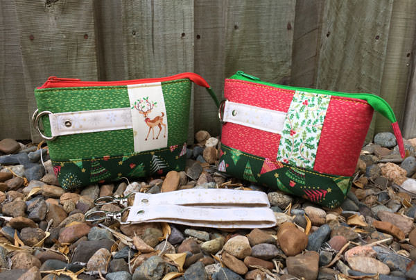Two Classic Clutches, the perfect pair - Christmas in July - Andrie Designs