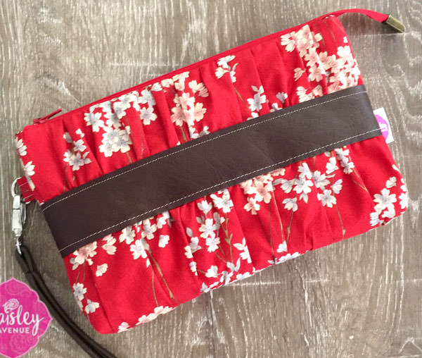 Oriental beauty in this Gather Me Up Clutch - Andrie Designs