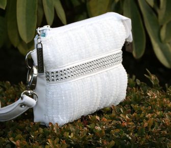 Stunning bridal Gather Me Up Clutch - Andrie Designs