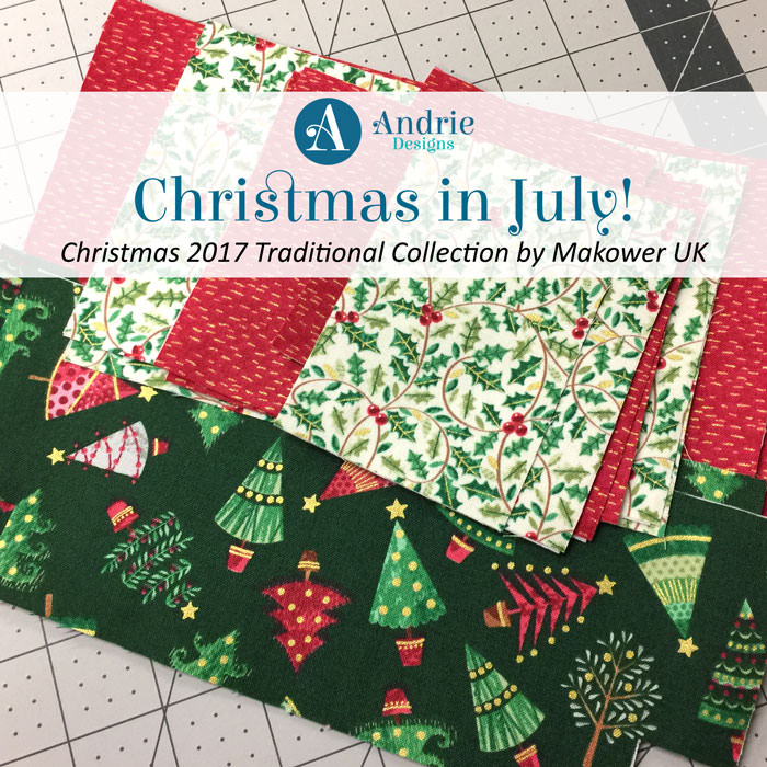 Title image - Christmas in July - Andrie Designs