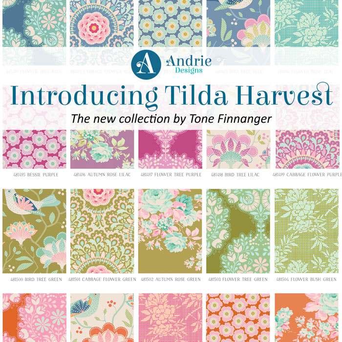 Introducing Tilda Harvest - Andrie Designs