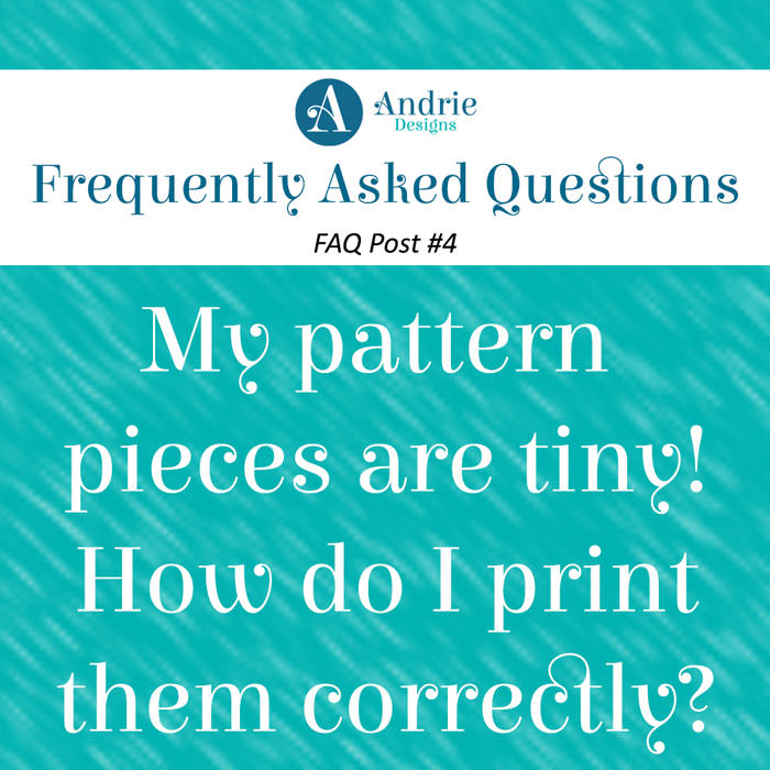 Frequently Asked Questions Post #4 - Andrie Designs