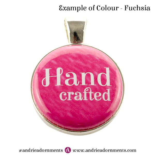 Example of fuchsia colour - Andrie Adornments