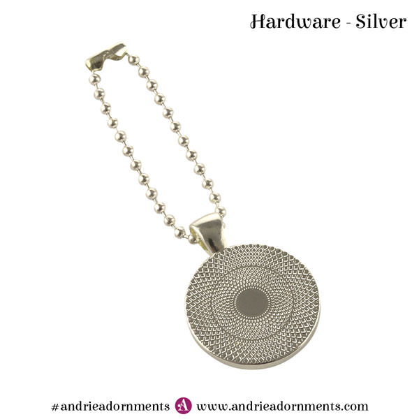 Silver Swing Tag - Andrie Adornments