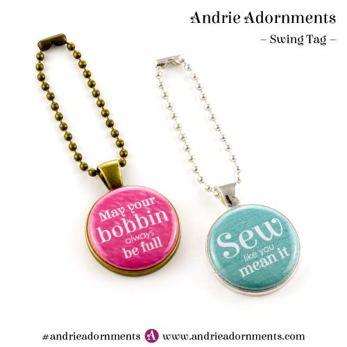 Andrie Adornments - Swing Tag