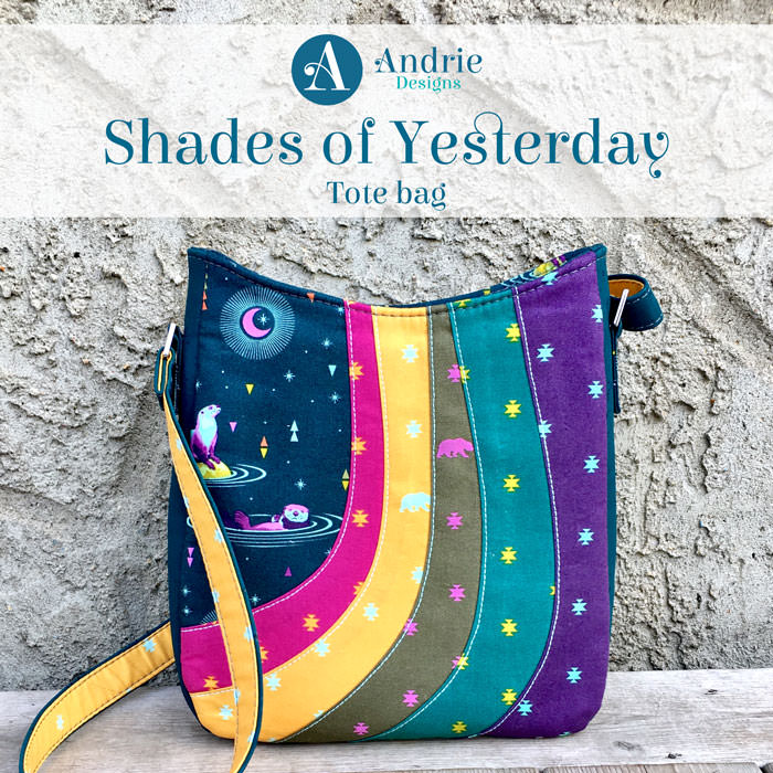 Shades of Yesterday Tote Bag - Andrie Designs