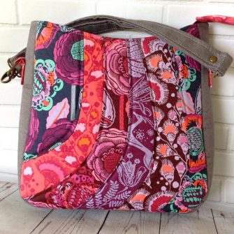 Check out those beautiful hues on this Shades of Yesterday Tote Bag - Andrie Designs
