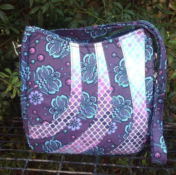 Love this purple shaded Shades of Yesterday Tote Bag - Andrie Designs
