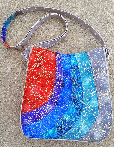 Check out this galaxy-themed Shades of Yesterday Tote Bag - Andrie Designs