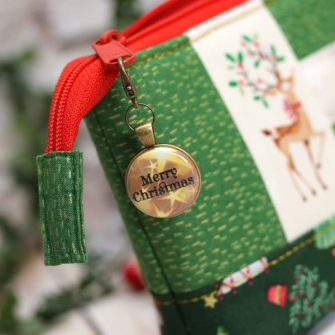 Antique Brass Christmas is Gold Adornment