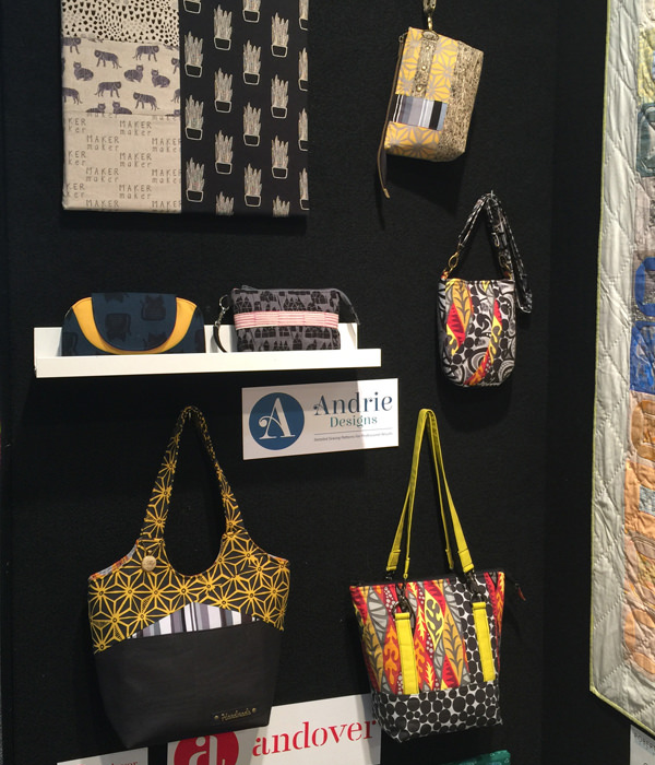 All the bags at the AQM 2017 - Andrie Designs