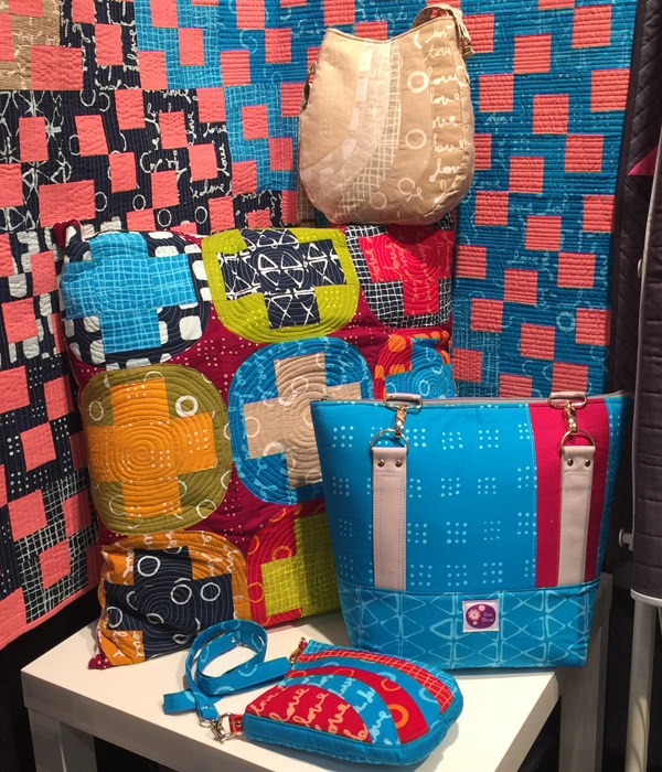 Classic Carryall and Shades of Yesterday at AQM 2017 - Andrie Designs
