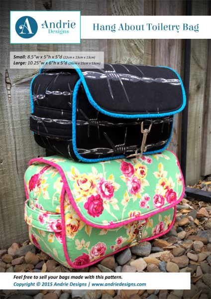 Hang About Toiletry Bag - Andrie Designs