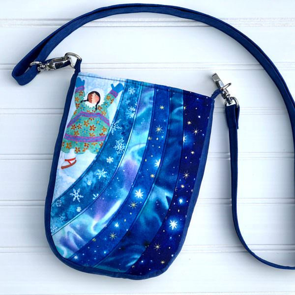 Stunning Alaskan-themed Mini Shades Pouch - Andrie Designs