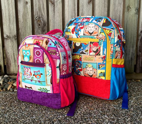 Two sizes included! Adventure Time Backpack - Andrie Designs
