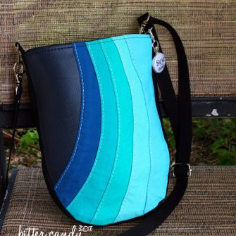 Loving this blue/teal ombre Mini Shades Pouch - Andrie Designs