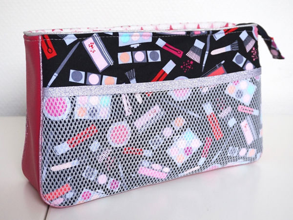 Brilliant as a make up bag! Carry All Flexi Clutch - Andrie Designs