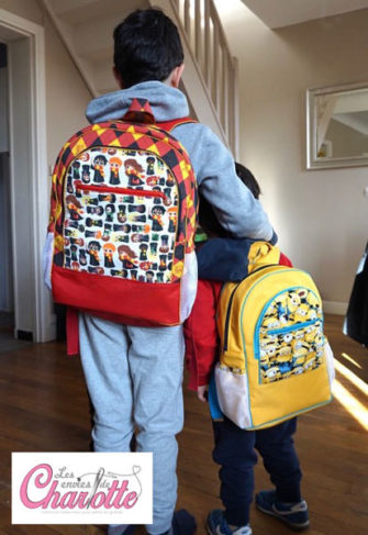 When Harry Potter met the Minions! Adventure Time Backpack - Andrie Designs