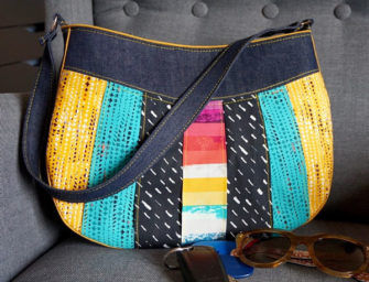 Katarina Roccella-themed Sew Compleat Shoulder Tote - Andrie Designs