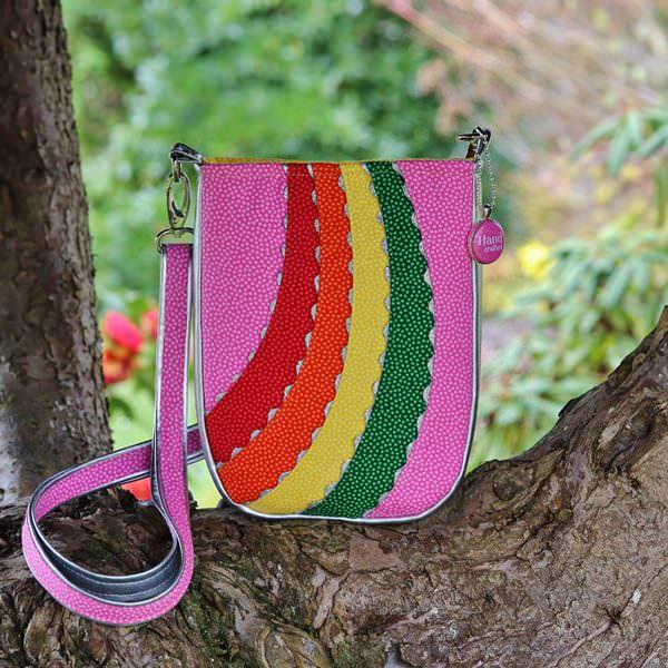 Beautiful rainbow unicorn Mini Shades Pouch - Andrie Designs
