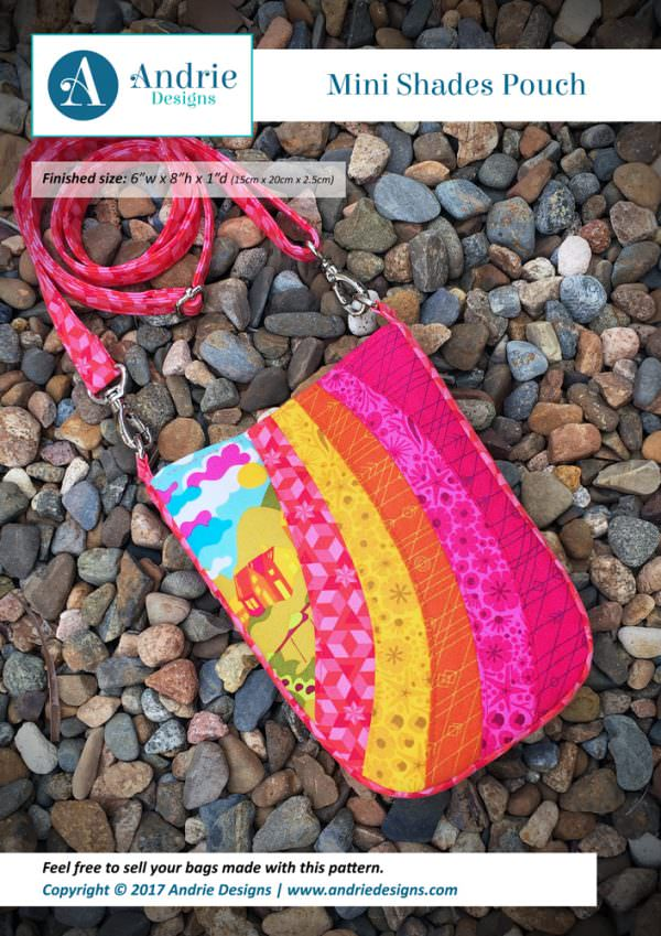 Mini Shades Pouch - Andrie Designs