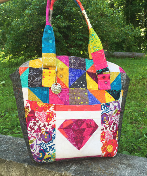 Amazing quilted Creative's Tote - Andrie Designs