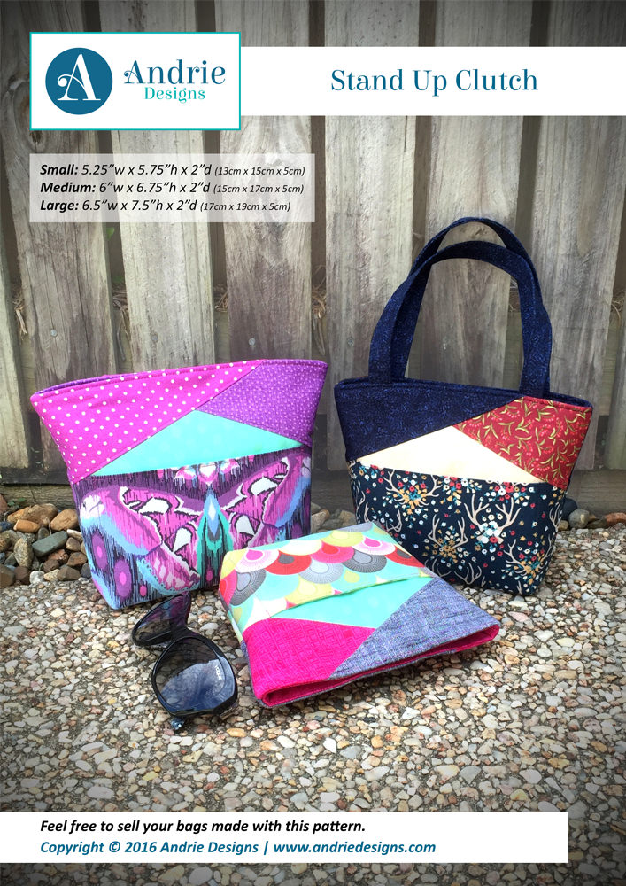 Stand Up Clutch - Andrie Designs