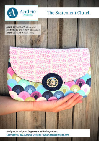 The Statement Clutch - Andrie Designs
