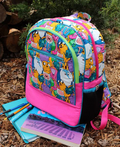 Adventure Time fabric anyone?! Adventure Time Backpack - Andrie Designs
