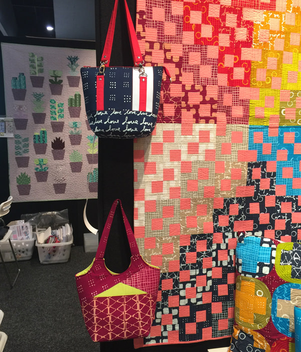 Two stunning bags at AQM 2017 - Andrie Designs