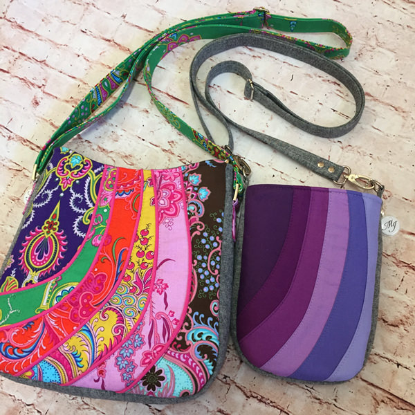 Shades of Yesterday Tote Bag and the Mini Shades Pouch - Andrie Designs