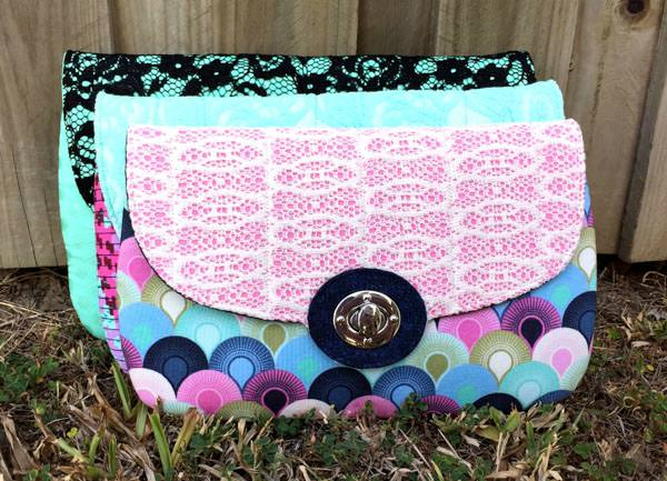 The Statement Clutch - 5 Quick and Easy Gifts to Sew! - Andrie Designs