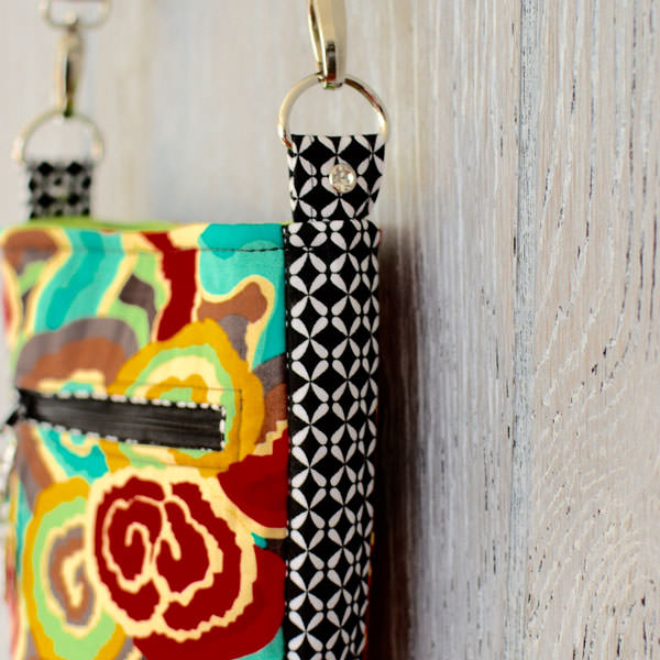 Check out the diamante rivet! Mini Shades Pouch - Andrie Designs