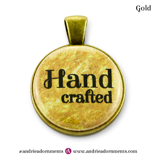 Gold on Antique Brass - Andrie Adornments