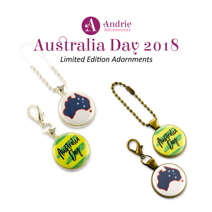 Australia Day 2018 - Limited Edition Adornments - Andrie Adornments