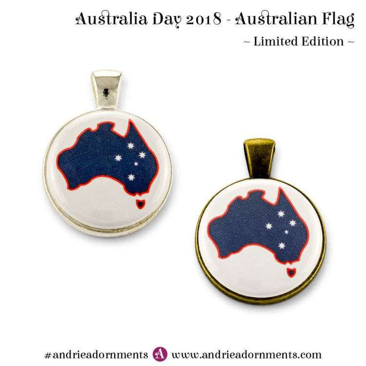 Australian Flag - Australia Day 2018 - Andrie Adornments
