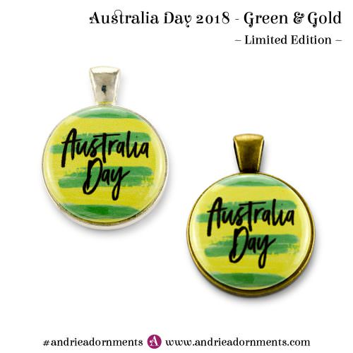 Green & Gold - Australia Day 2018 - Andrie Adornments