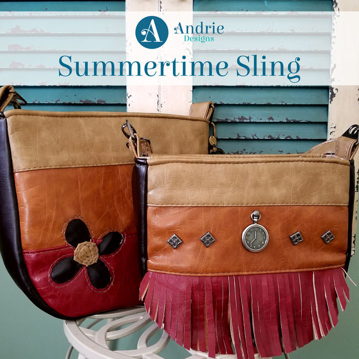 Pattern Inspiration - Summertime Sling - Andrie Designs